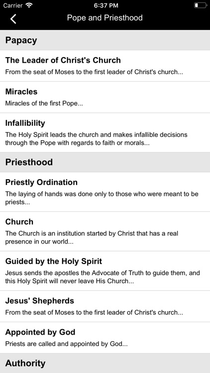 Catholic Sword Apologetics screenshot-5