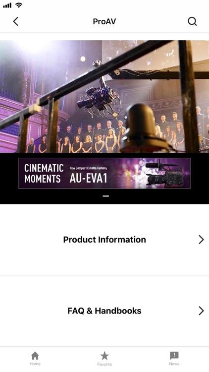 Professional AV Products Info screenshot-3