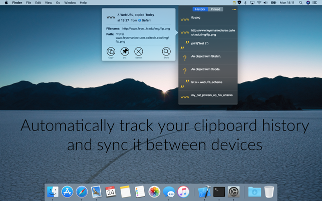 ‎Nice Clipboard: synced history Screenshot