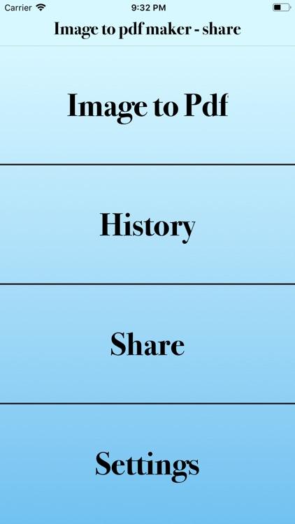 image to pdf maker - share