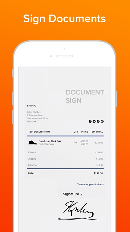 Sign Documents & PDF e.signing screenshot-0