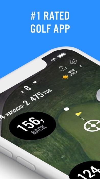Golf GPS 18Birdies Scorecard Screenshot