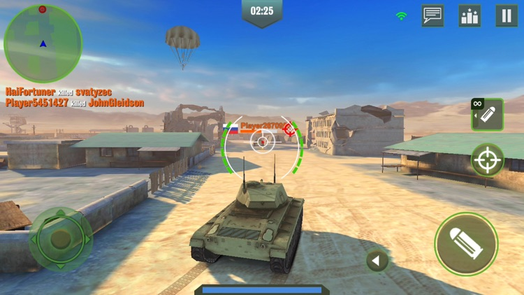 War Machines: 3D Tank Game screenshot-4