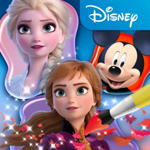 Disney Coloring World icon