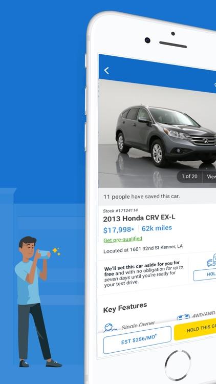 CarMax: Used Cars for Sale screenshot-0