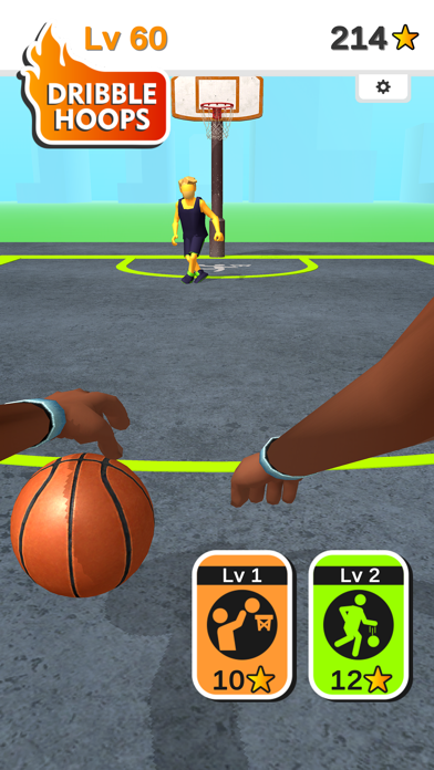 Dribble Hoops screenshot 7