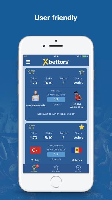 Screenshot for Xbettors (Betting Tips) in Jordan App Store