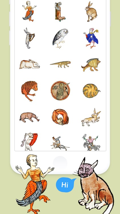 Medieval Rabbit Stickers screenshot-4