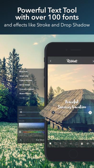 Ribbet™ Photo Editing Suite screenshot three