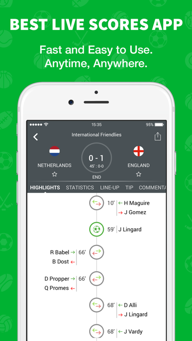 Skores - Live Scores & Results by Skores Limited (iOS