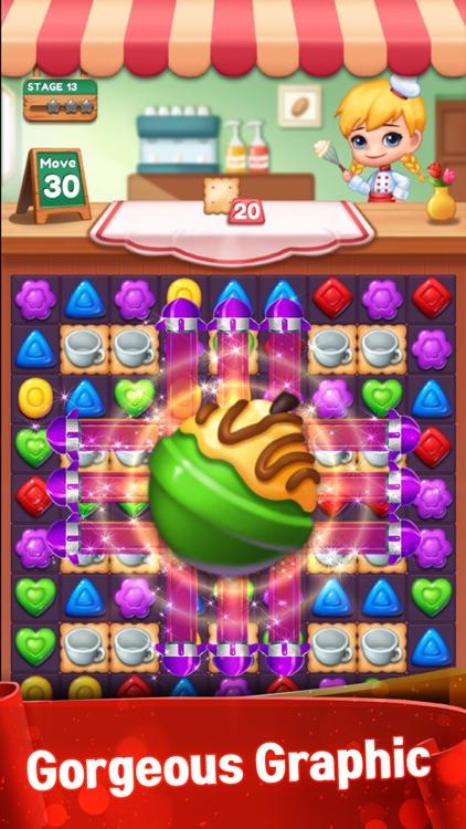 Sweet Candy POP Match 3 Puzzle screenshot-3