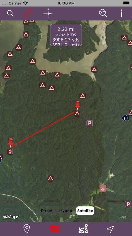 Hoosier National Forest – GPS screenshot-3