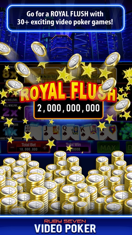 Video Poker by Ruby Seven screenshot-3