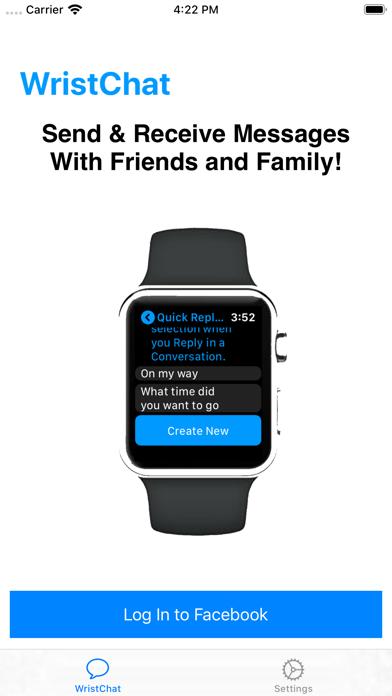 WristChat for Facebook screenshot 4