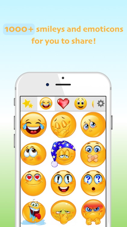 Smileys: New Emojis screenshot-0