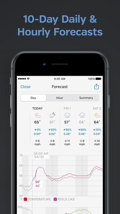 Weather Underground: Local Map screenshot-5