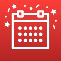 Celebrate: fêtes des contacts