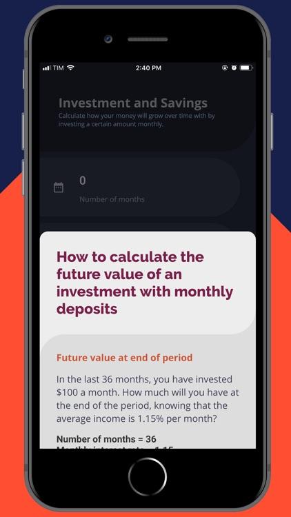Financial Calculator Invest screenshot-4