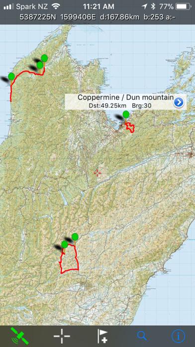 NZ Topo50 South Island screenshot four