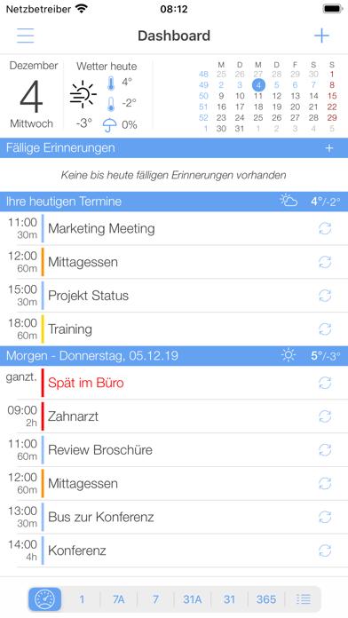 miCal - der KalenderScreenshot von 1