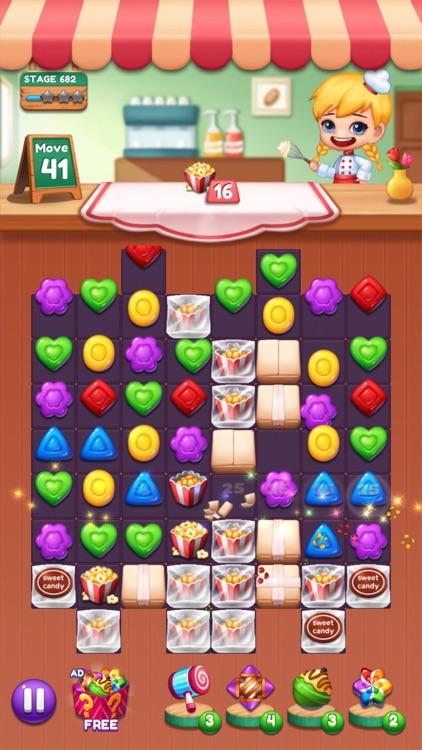 Sweet Candy POP Match 3 Puzzle screenshot-9