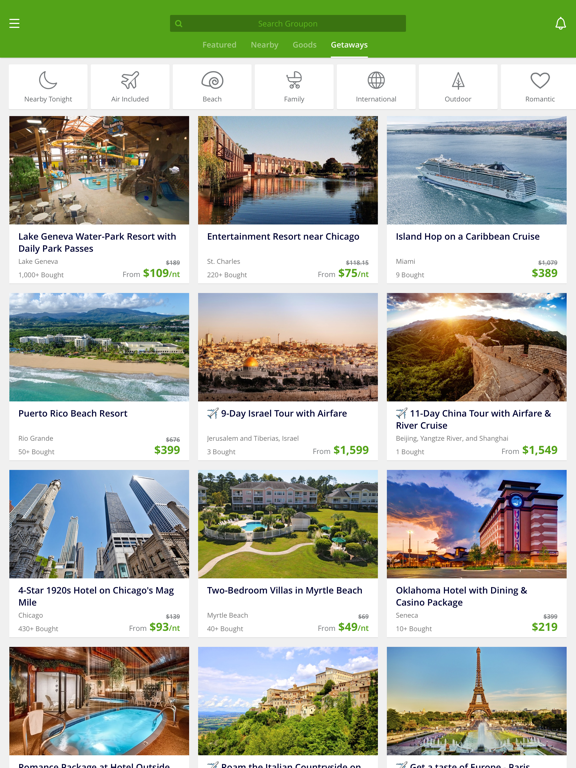 Groupon - Deals, Coupons & Shopping: Local Restaurants, Hotels, Yoga & Spas screenshot