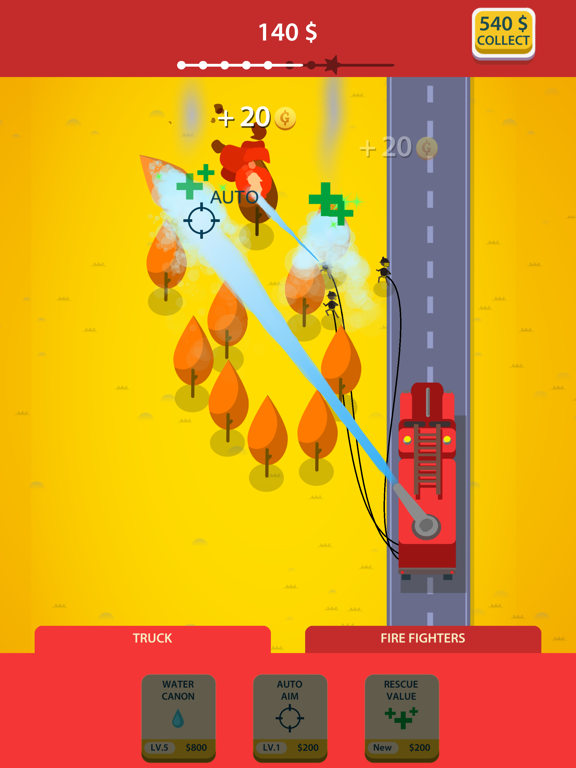 Idle Firetruck screenshot 6
