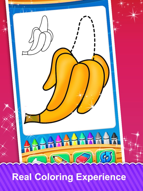 Fruits and Vegetable Coloring screenshot 9