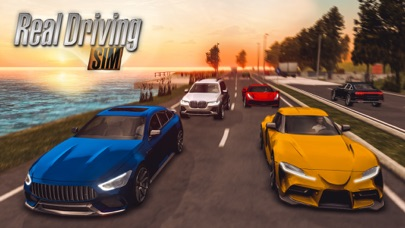 Herunterladen Real Driving Sim für Android