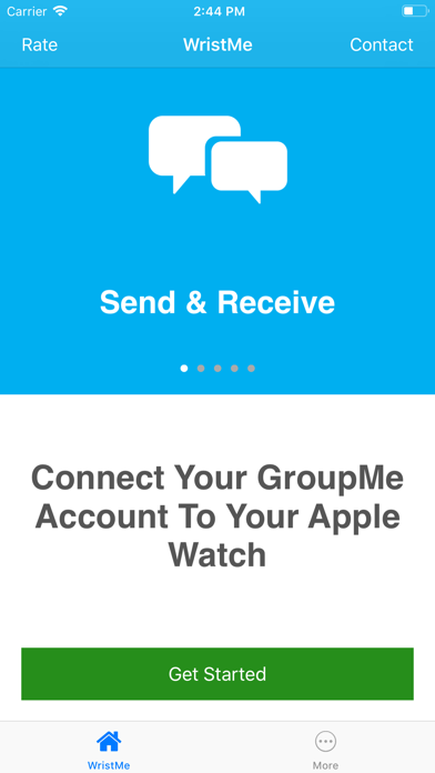 Screenshot for Wrist for GroupMe in United States App Store