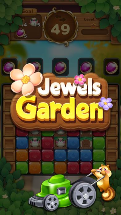 Jewels Garden : Blast Puzzle screenshot 7
