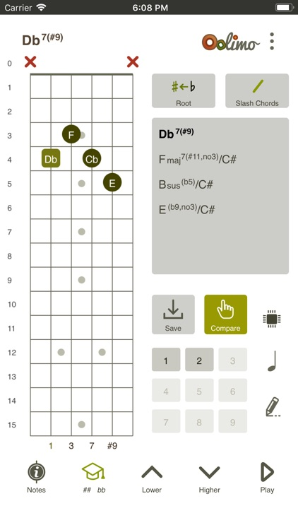 Oolimo Guitar Chords screenshot-7