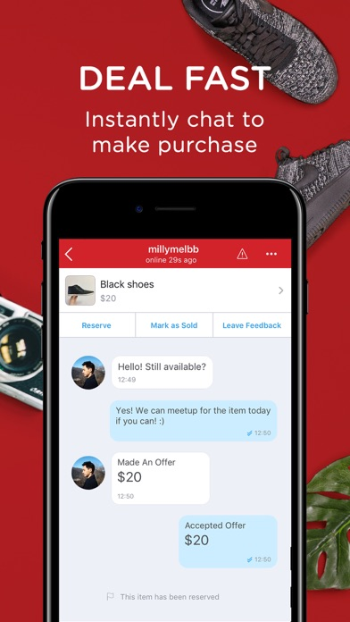 Screenshot for Carousell in Singapore App Store