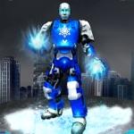 雪機器人瘋狂的城市戰鬥