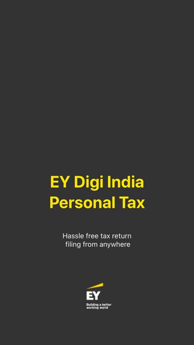 EY Digi India Personal Tax screenshot one