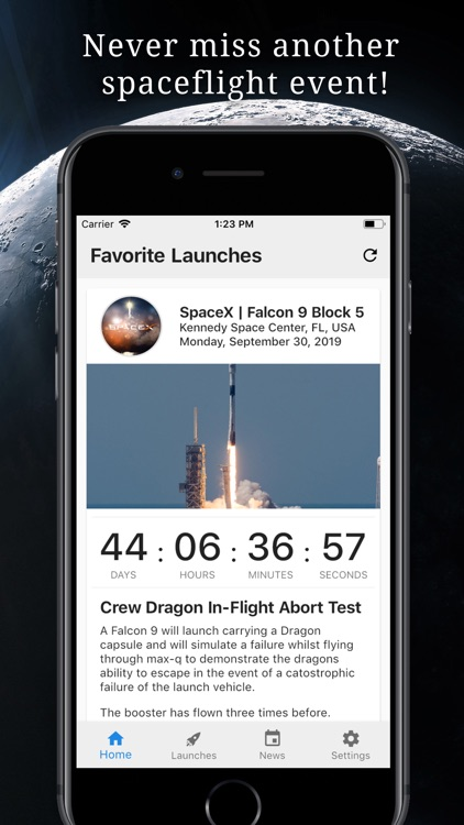 Space Launch Now