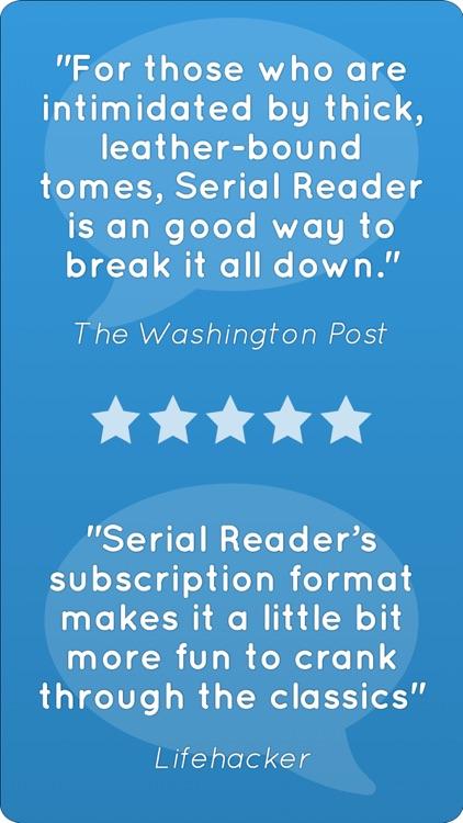 Serial Reader - Classic Books screenshot-5