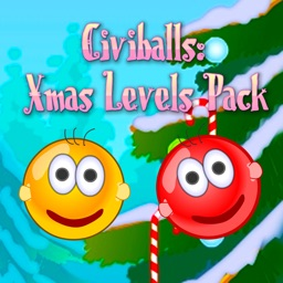 Civiballs Xmas: Physics puzzle