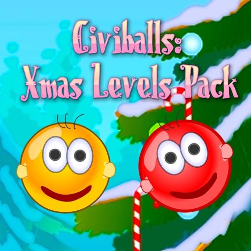 Civiballs Xmas: Physics puzzle
