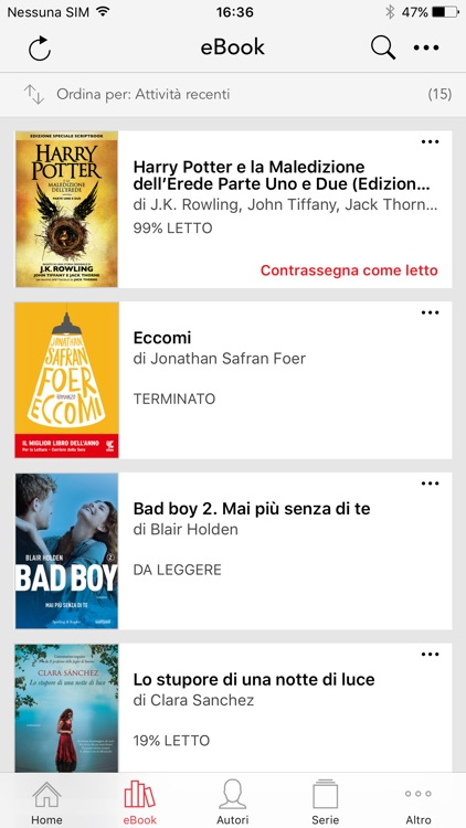 La Feltrinelli Kobo screenshot-1