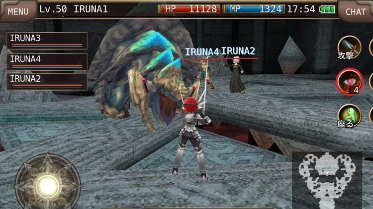 イルーナ戦記オンライン MMORPG screenshot-4