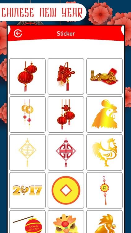 Chinese New Year Frame&Sticker screenshot-3
