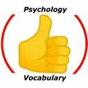 Psychology Vocabulary