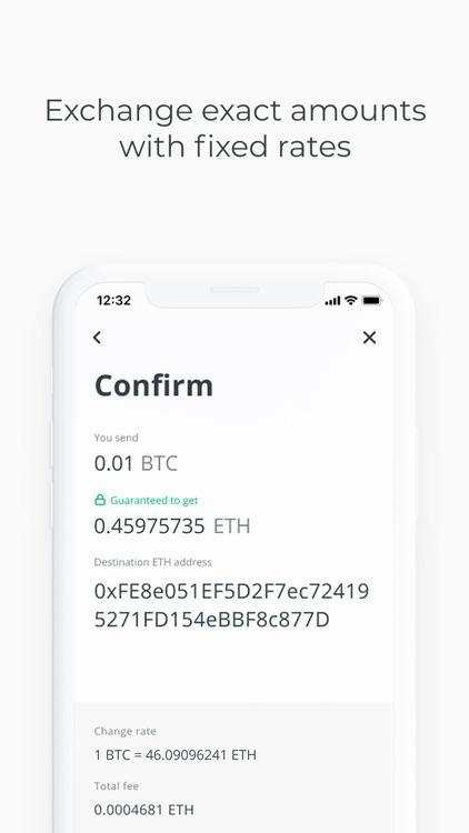 Changelly: Crypto Exchange screenshot-3