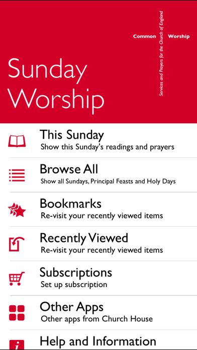 Sunday WorshipScreenshot of 2