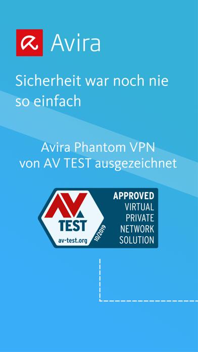 Avira Phantom VPNScreenshot von 1