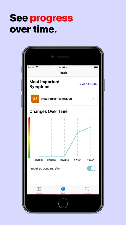 OpenCare - Track Symptoms screenshot-3