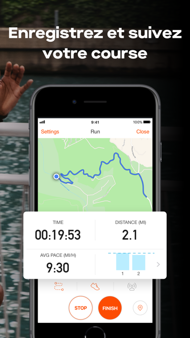 Screenshot for Strava – Running et Cyclisme in Lebanon App Store