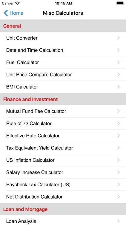 EZ Financial Calculators screenshot-7