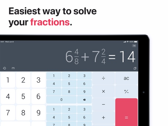 The Calculator Free screenshot